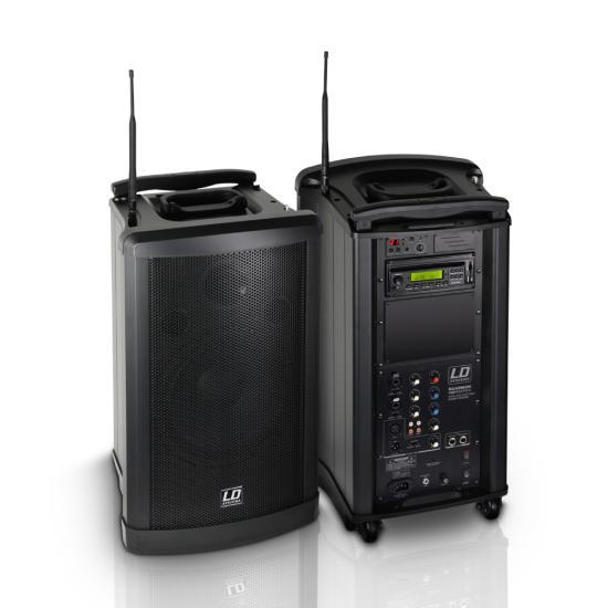 Roadman-102 Batterielautsprecher mit Funkmirkofon