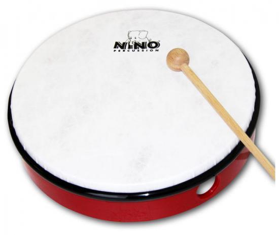 Hand-Drum 12-Zoll Rot