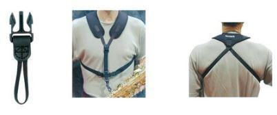 Saxophongurt Super-Harness Kunststoffkarabiner