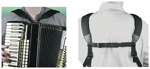 Akkordeon-Tragriemen Accordion Harness