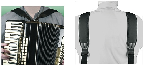 Akkordeon Tragriemen Mega Accordion Harness