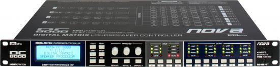 DC8000 Digitaler Lautsprecher-Prozessor