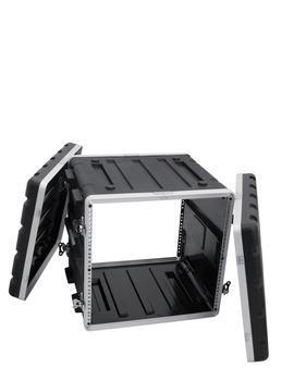 Kunststoff-Rack 10HE schwarz