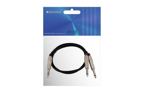 Adapterkabel Stereo-Klinke 2xKlinke 6m
