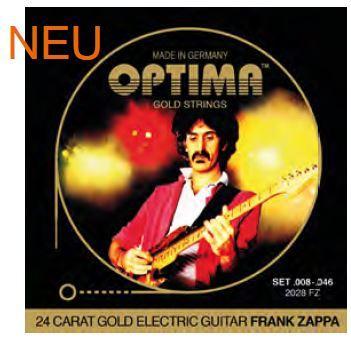 2028FZ Goldsaiten E-Gitarre Frank Zappa