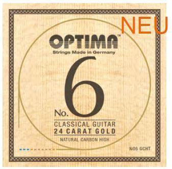 NO6GCHT Goldsaiten Konzertgitarre