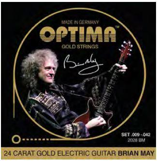 2028BM Goldsaiten E-Gitarre Brian-May