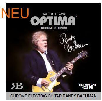 4028RB Chromsaiten E-Gitarre Randy Bachman