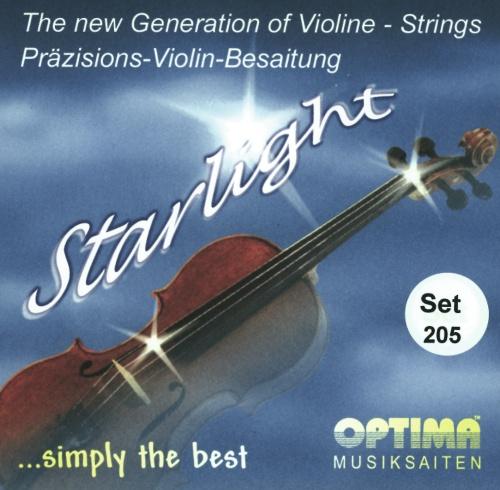 Saiten für Violine Starlight Satz