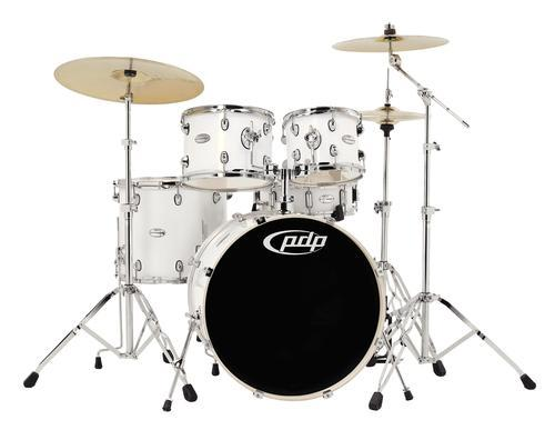 Mainstage Drumset Gloss-White