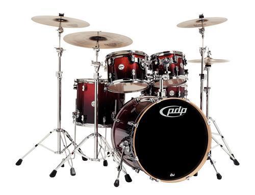 Drumset Concept Maple Transparent Cherry