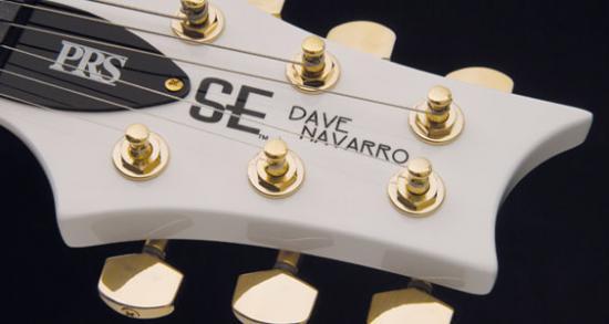 SE Dave Navarro Jet-White