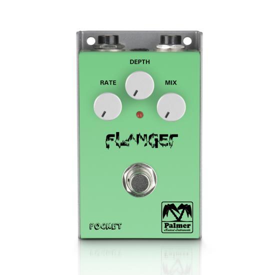 Pocket-Flanger Effekt für Gitarre
