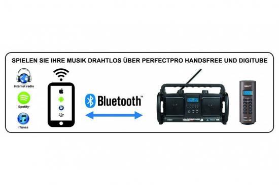 Handsfree Baustellenradio