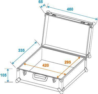 Universal-Koffer-Case FOAM sil