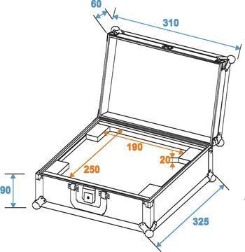 Professionelles iPad-Flightcase
