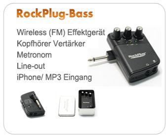 Wireless (FM) Effektgerät für E-Bass
