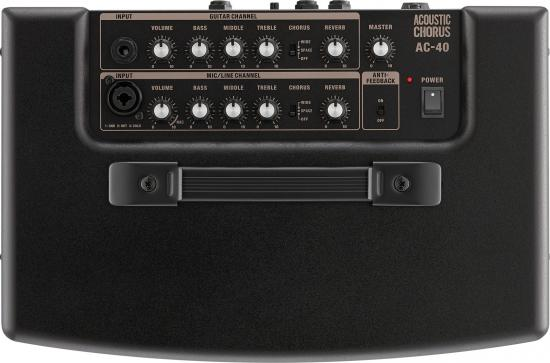 AC-40 Stereo-Akustik-Amp für Singer Songwriter