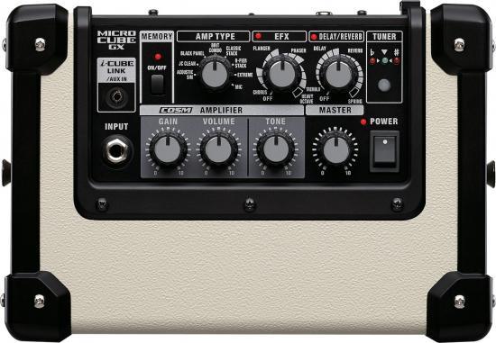 Micro-Cube-GX Gitarrenverstärker weiß