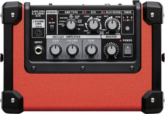 Micro-Cube-GX Gitarrenverstärker rot