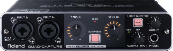 QUAD-CAPTURE Audio-Interface