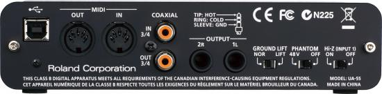 QUAD-CAPTURE Audio-Interface