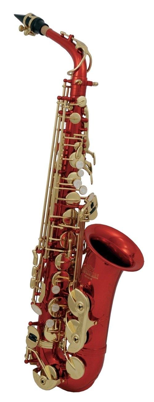 Rotes Alt-Saxophon AS-202R