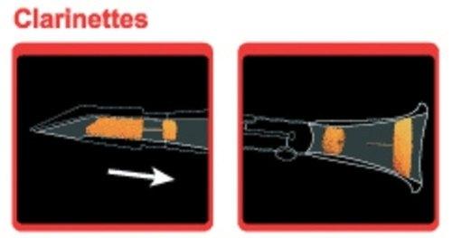 Dämpfer für Klarinette