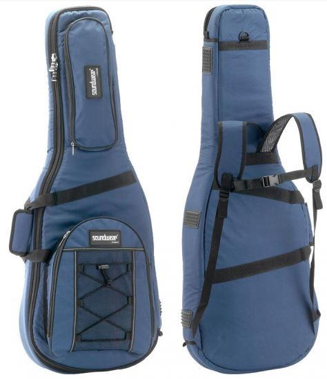 Performer 3/4-Konzertgitarrentasche blau