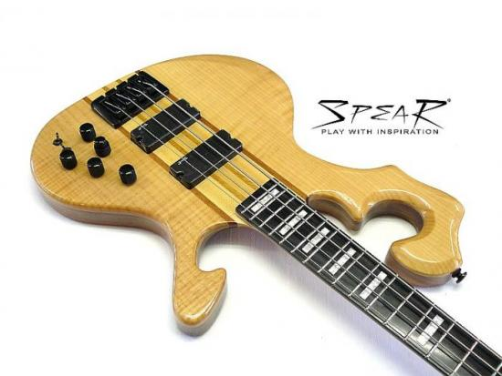 S-1-FL Flame-Top E-Bass