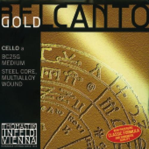 Saiten für Cello Belcanto Gold Mittel