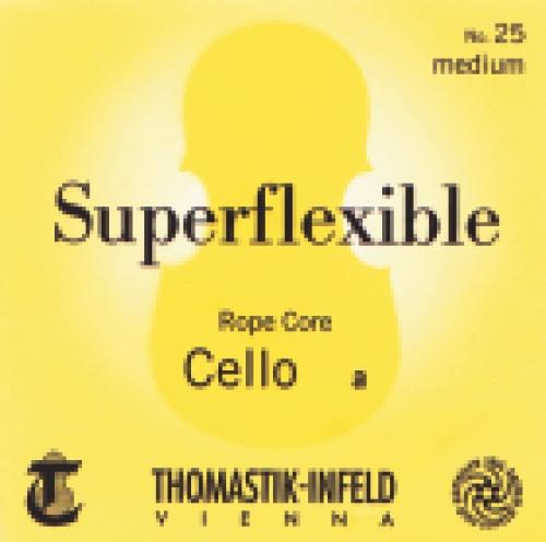 Saiten für Cello Superflexible Seilkern Stark
