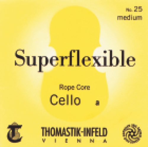 Saiten für Cello Superflexible Seilkern Weich