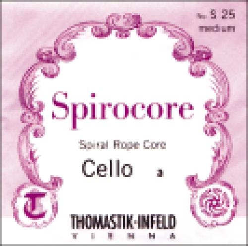 Saiten für Cello Spirocore Spiralkern Weich