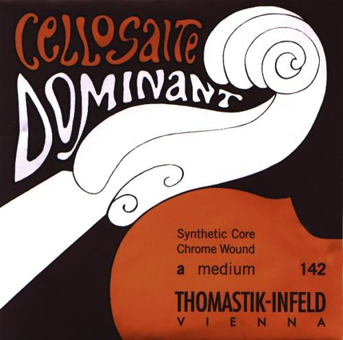 Saiten für Cello Dominant Nylonkern Mittel