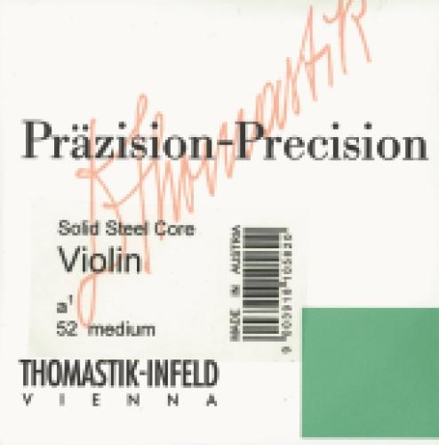 Saitensatz Violine Präzision-Stahl-Vollkern