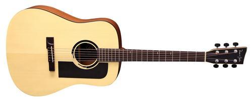 B10-Bayou Akustikgitarre Natural-Satin