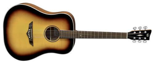 RT10 Root Aged-Sunburst Dreadnought Gitarre