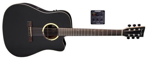 B10CE Bayou Satin Black E-Akustikgitarre