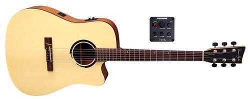 B10CE Bayou Natural Satin E-Akustikgitarre