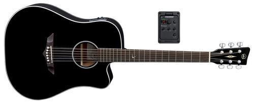 RT10CE Root Black E-Akustikgitarre