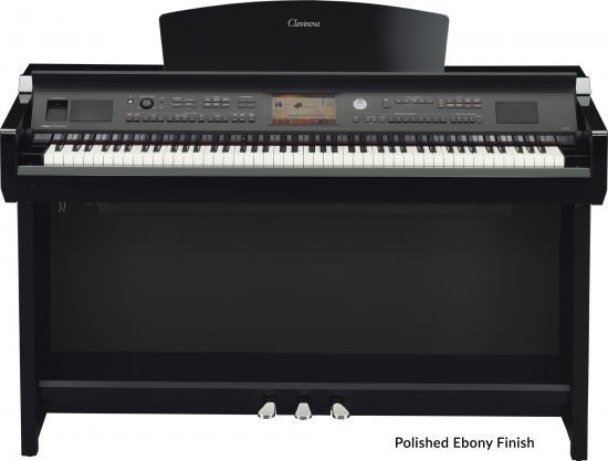 CVP-705PE Arranger-Piano Schwarzpoliert