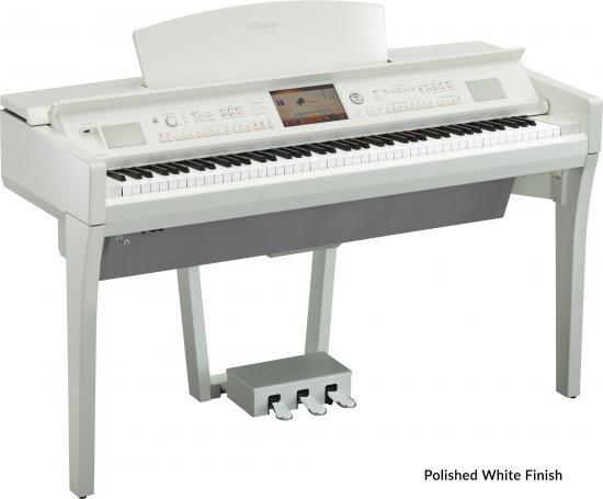 CVP-709PWH Arranger-Piano Weisspoliert