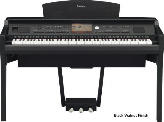 CVP-709PE Arranger-Piano Schwarzpoliert