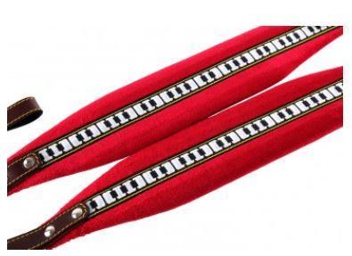 Akkordeonriemen Standard Rot