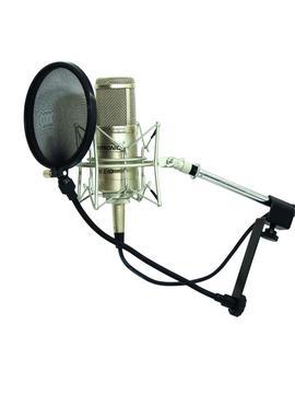 Mikrofon-Popfilter schwarz
