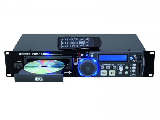 XDP1400 CD-MP3-SD-USB-Player