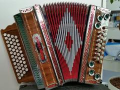 Harmonika Profi4NS Solist-Stimmen Bayerland