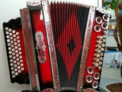 Harmonika Profi4RS 3-Chörig