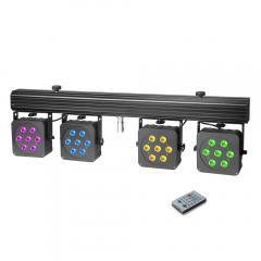 MultiPAR3 LED-Lichtanlage Cameo